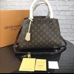 Louis Vuitton Montaigne monogram bag